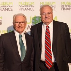Charles Schwab and Joe Ricketts at the 2017 Gala