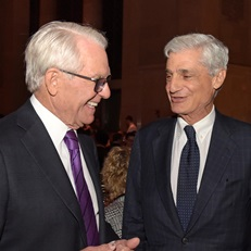 Charles Schwab and Robert Rubin at the 2016 Gala