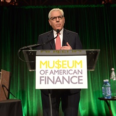 David Rubenstein speaks at the 2015 Gala