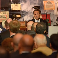 Tim Geithner in a fireside chat with Charles Wait