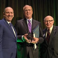 Laurence Fink receives Schwab Award for Financial Innovation at 2019 Gala
