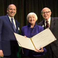Dr. Janet Yellen receives Whitehead Award at 2019 Gala