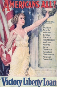 Capitalizing on American Pride and Patriotism: The Liberty Loan Bond Story and the Promotion of the War Bonds of WWI, 1917-1923