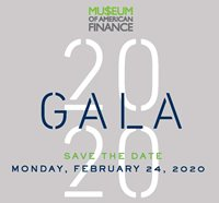 Museum of American Finance 2020 Gala Honoring Dan Schulman, James P. Gorman and Peter A. Cohen