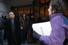Wall Street Walking Tour: March 7