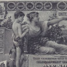 $1 Education Series Silver Certificate, 1896