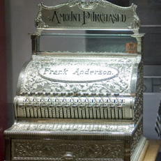 Antique cash registers