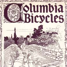 Columbia Bicycles by Pope Manufacturing advertisement in <i>Judge</i> magazine, 1897. Credit: Museum of American Finance