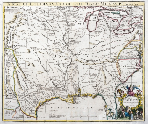 Map Of Louisiana Territory.Map Of Mississippi Valley System And Louisiana Territory Published