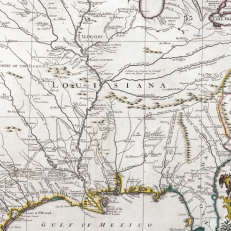 Map of Mississippi Valley System and Louisiana Territory, published by Guillaime De L'Isle, 1718. Credit: The Baring Archive