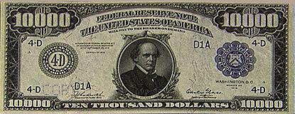 $10,000 Bill | Museum of American Finance