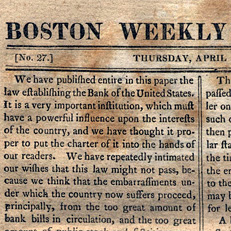 <em>Boston Weekly Messenger</em> Editorial
