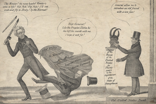andrew jackson and the bank war summary