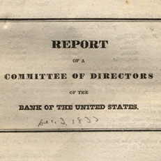 Report of a Committee of Directors