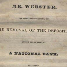 Speech on the Bank of the United States