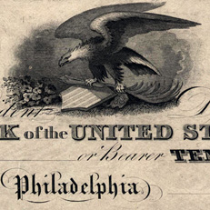 Unissued Second Bank of the US notes