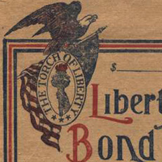 Liberty Bond Storage Envelope