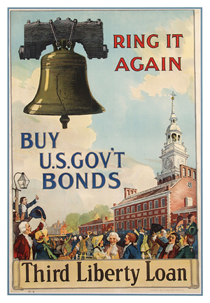 Liberty Loan Poster Museum Of American Finance