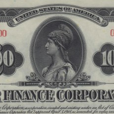 $1,000 War Finance Corporation Bond