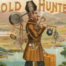 """The Independent Gold Hunter on His Way to Klondike,"" 1895, courtesy of John E. Herzog"