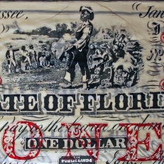 $1 Confederate Note