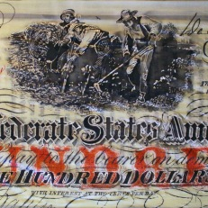 $100 Confederate Note