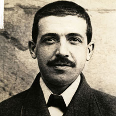 Mug shot of Charles Ponzi, the original Ponzi artist.
