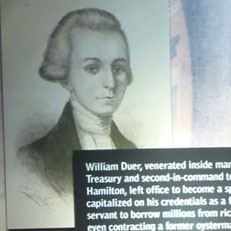 William Duer and America's First Financial Scandal