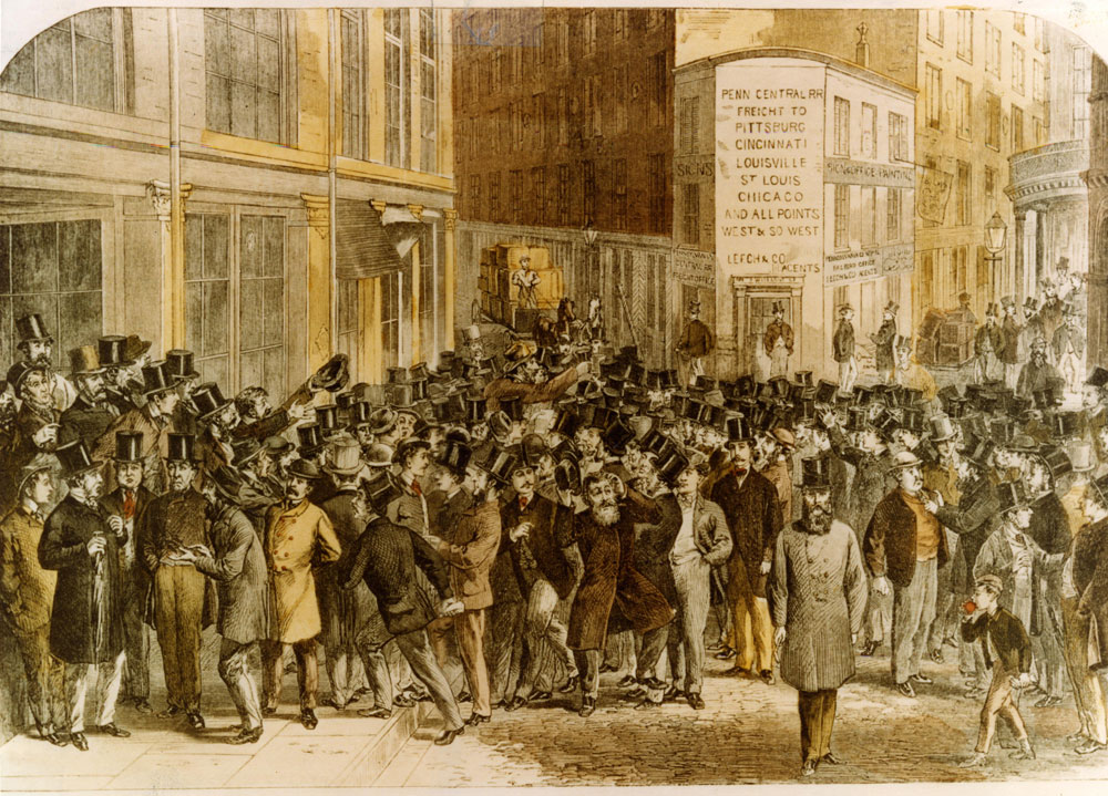 Trading on the Street | Museum of American Finance