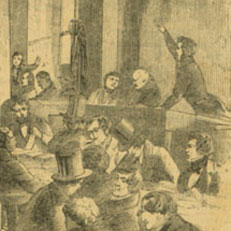 Scene at the Stock Exchange, 1850