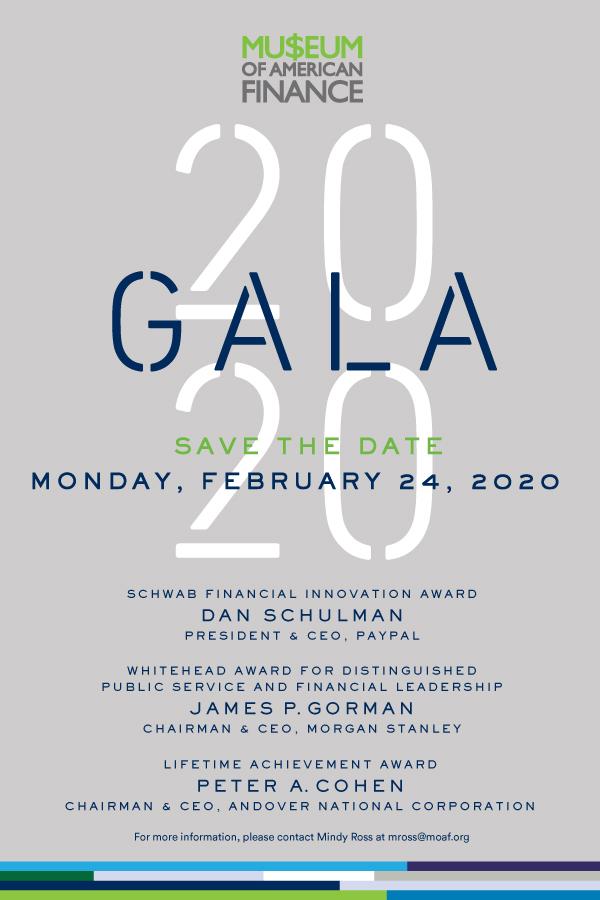 2020 MoAF Gala Invitation