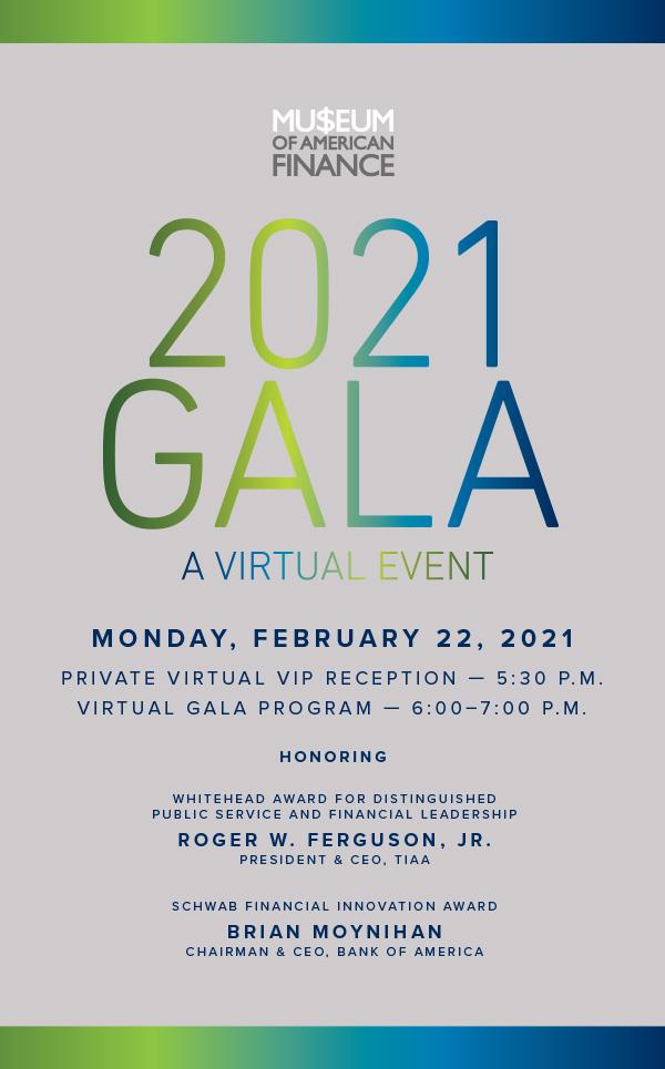 2021 MoAF Gala Invitation