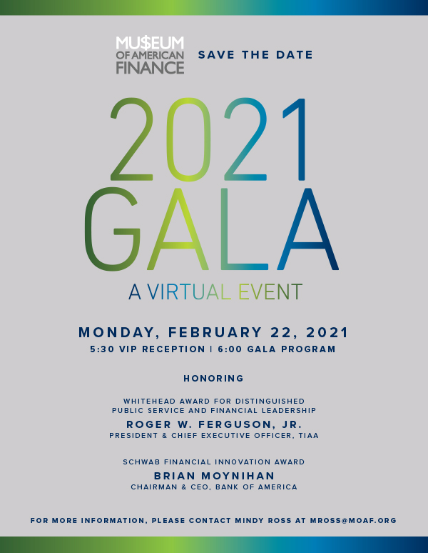 2021 MoAF Gala Save the Date