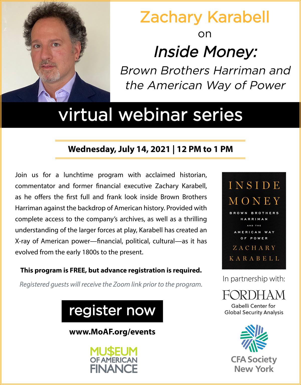 Zachary Karabell on Inside Money