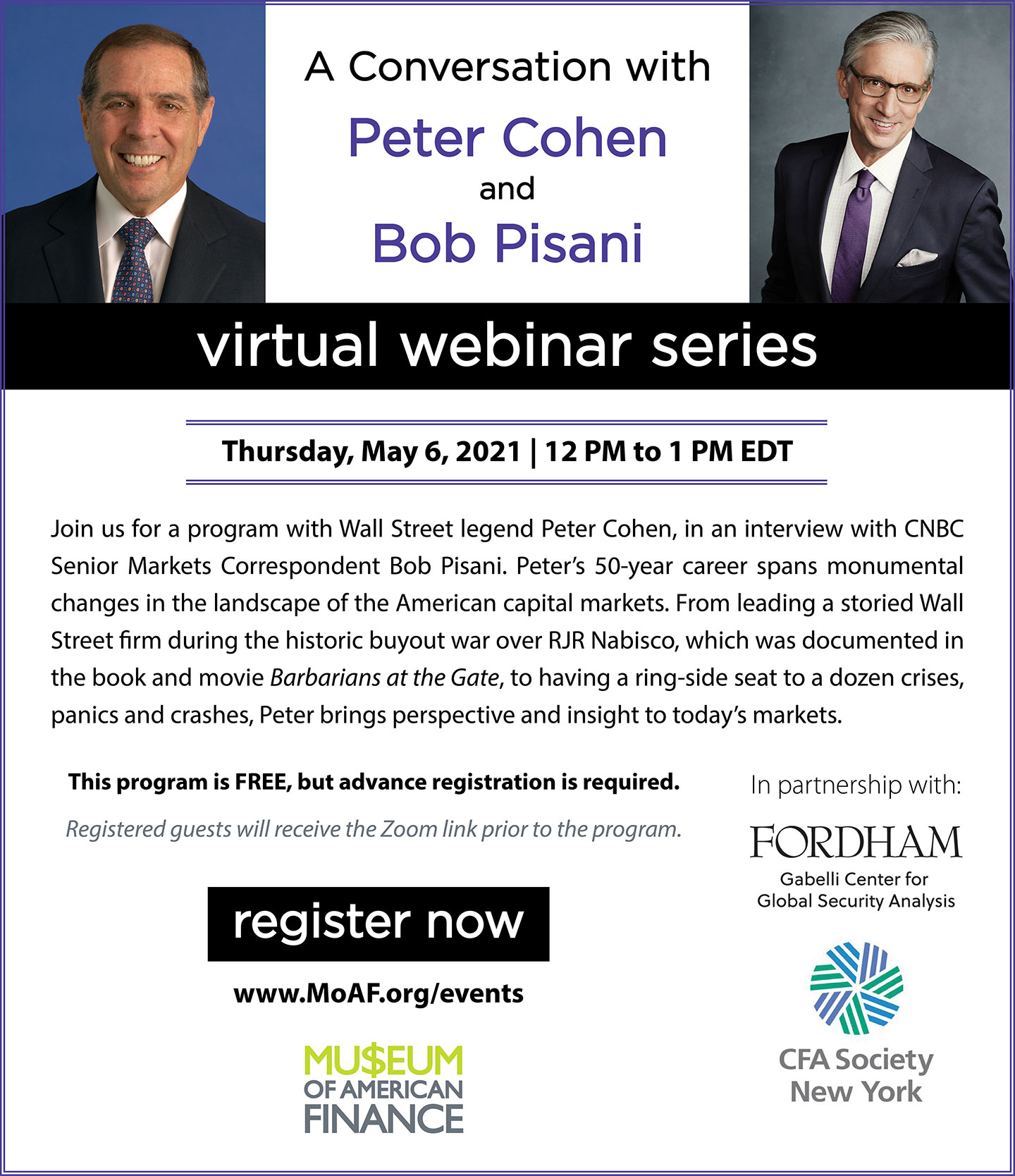 Conversation with Peter Cohen and Bob Pisani