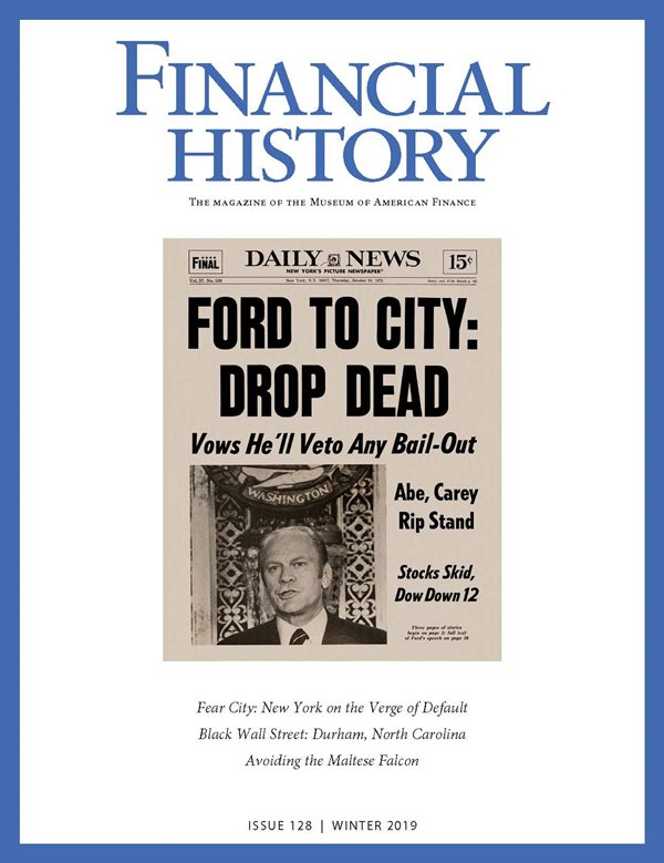 Financial History Magazine, Issue 128