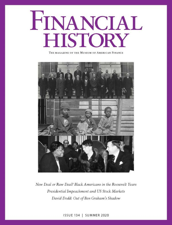 Financial History Magazine, Issue 134
