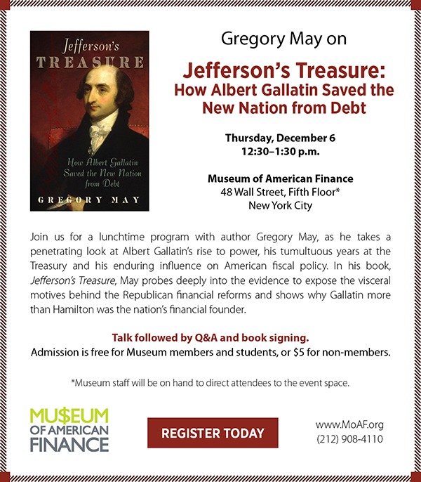 Gregory May on Jefferson's Treasure