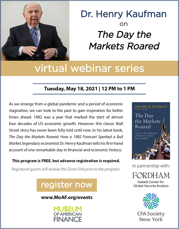 Henry Kaufman Event Invitation