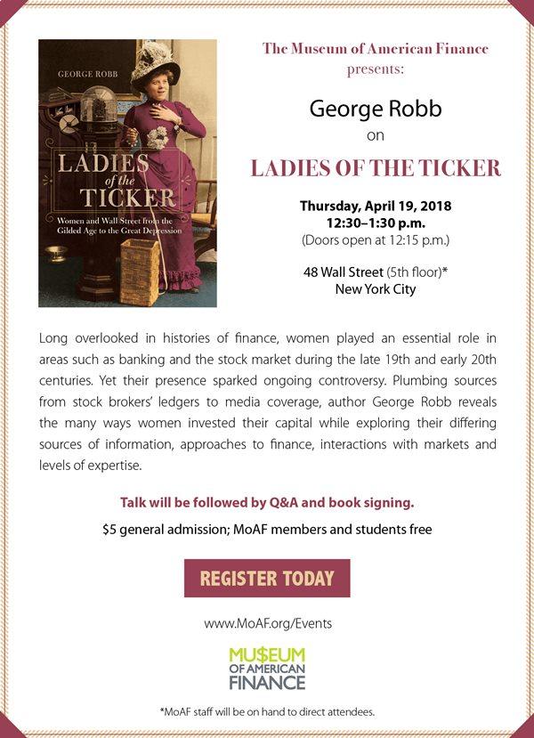 George Robb on Ladies of the Ticker