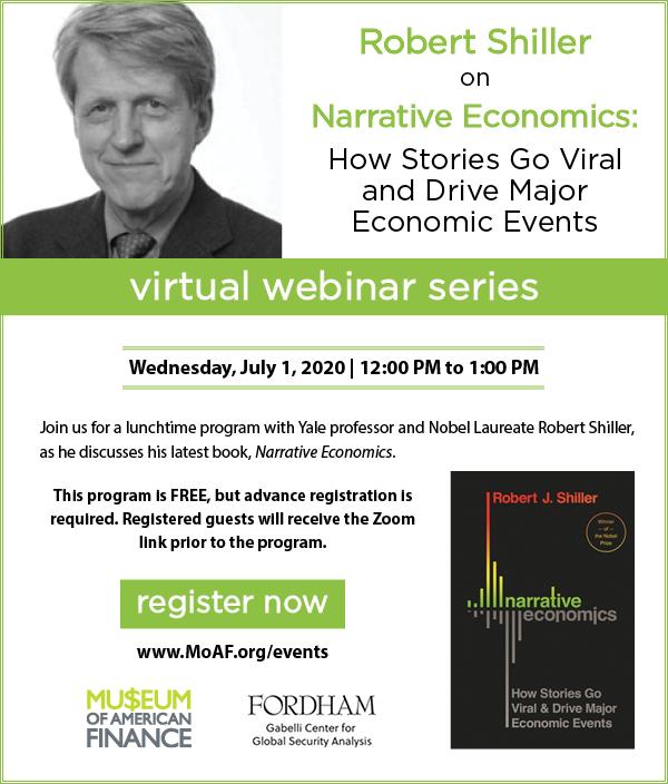 Robert Shiller on Narrative Economics