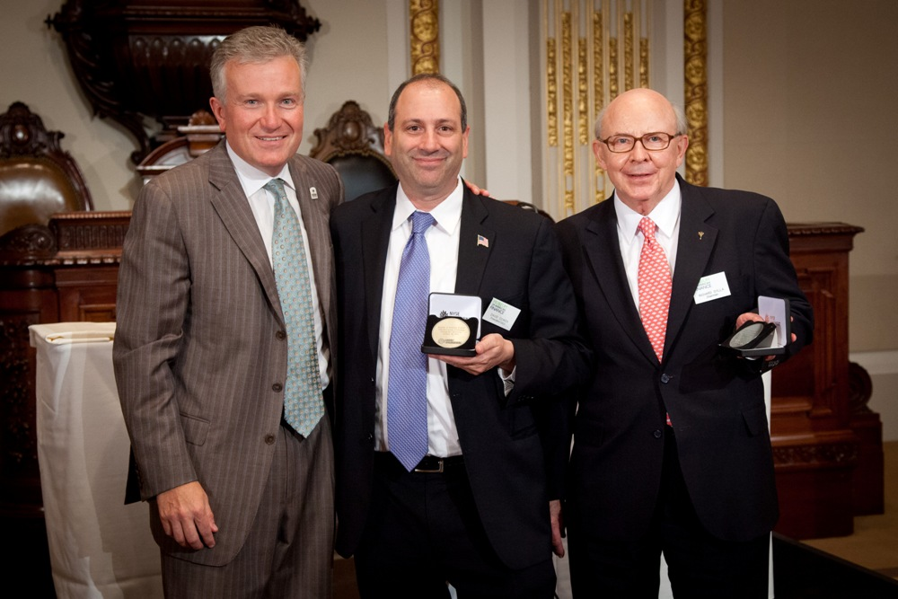 Moaf Chairman Richard Sylla And President David Cowen