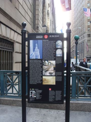 Heritage Trail Marker Reflects Museum's New Home