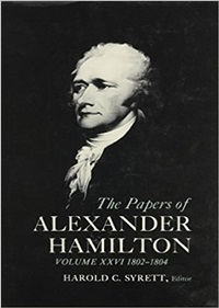 Request for Hamilton Correspondence and Documents