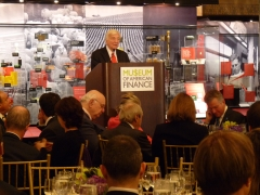 Volcker Helps Finance Museum Raise $470,000 at Gala, Defy Slump