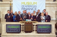 Museum of American Finance Visits the NYSE