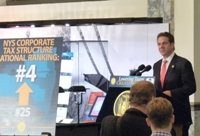 Conservative Tax Foundation Honors Gov. Cuomo for Recent Reforms