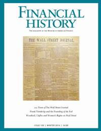 Financial History, Issue 109