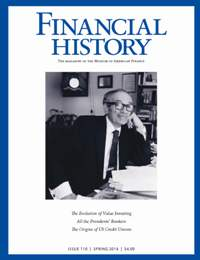 Financial History, Issue 110