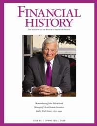 Financial History, Issue 113